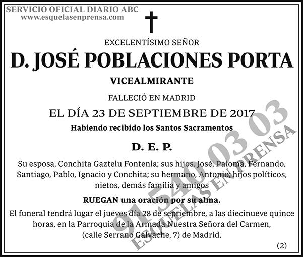 José Poblaciones Porta